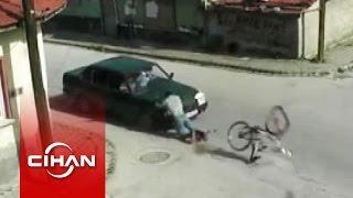 Hız Ve Dikkatsizlik Sonucu Meydana Gelen Kazalar Kamerada