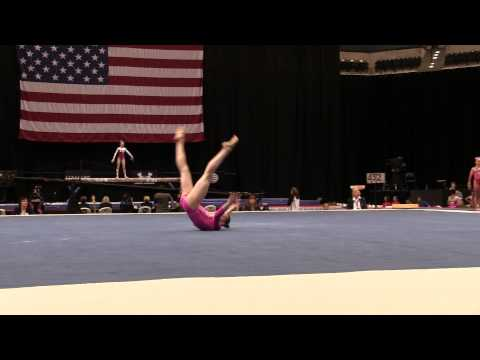 Maile O'Keefe – Floor Exercise – 2015 P&G Championships – Jr. Women Day 1