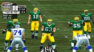 ESPN NFL 2K5 COWBOYS VS PACKERS