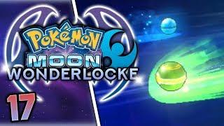 SO MANY WONDERTRADES! Pokemon Moon Wonderlocke Part 17 w/ HDvee