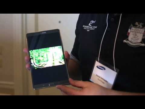 Android-Tablet Samsung Galaxy Tab S (2014) im Hands On