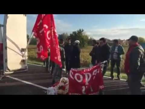 21/10/2016 - Sciopero generale: Bologna, intervento di Paolo