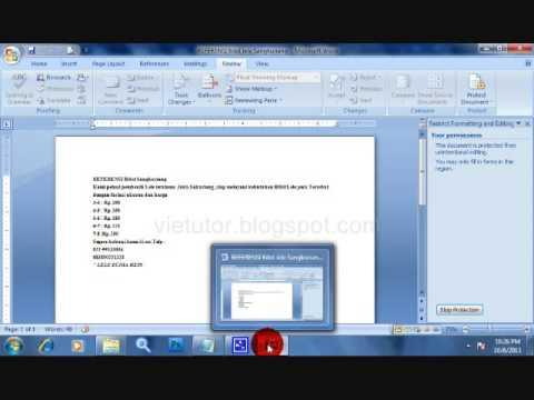 Romo Kakung: File Word Tidak Bisa di Edit dan di Copy