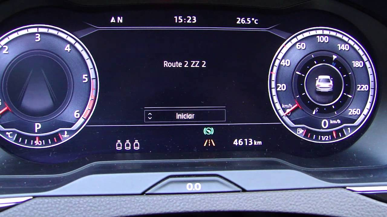 Volkswagen Passat 2015. Instrumentación Digital Cockpit - YouTube