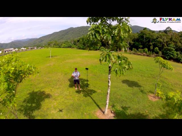 DJI Phantom With The QuadFrame Gimbal Test Flight