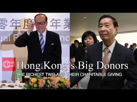 Hong Kong tycoons make impact with philanthropy