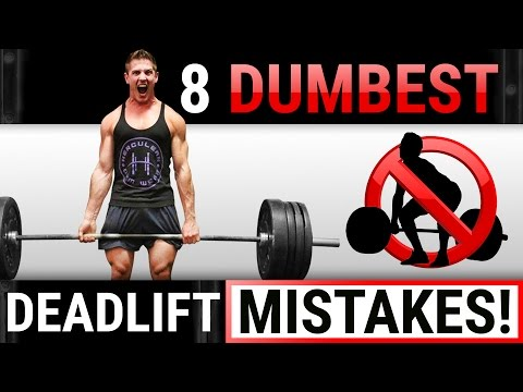 8 Dumbest Deadlift Mistakes Sabotaging Your GAINS! | STOP DOING THESE!