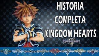 HISTORIA COMPLETA DE KINGDOM HEARTS (KHuX- KH 3)