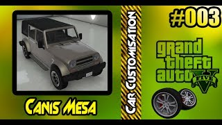 GTA V - Canis Mesa Car Customization + Offroad Test