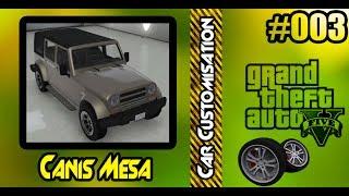 GTA V - Canis Mesa Car Customization + Offroad Test