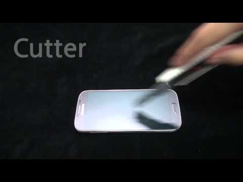Brando Workshop Premium Tempered Glass Protector - Samsung Galaxy S4 Testing