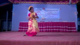 Nice Dance, the Students of Rajdharpur Kinder garten. Baliakandi, Rajbari