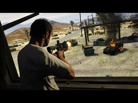 Grand Theft Auto 5 mission Trevor Philips Industries