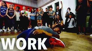 """WORK"" - Rihanna Freestyle by FIK-SHUN 