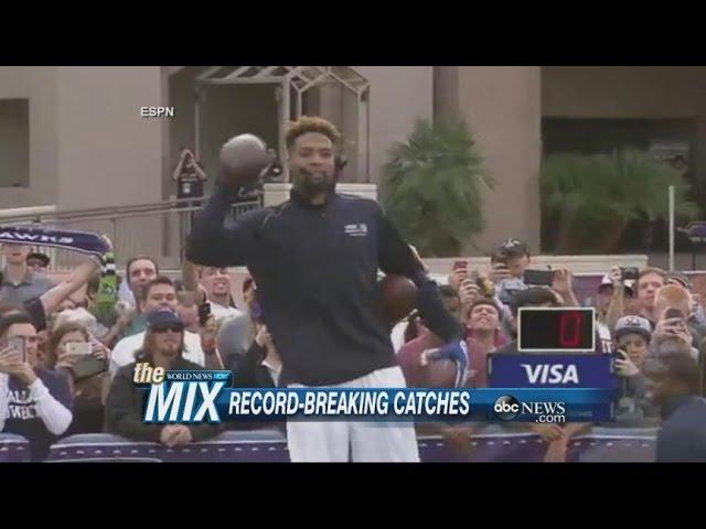 Odell Beckham Jr. Sets A World Record