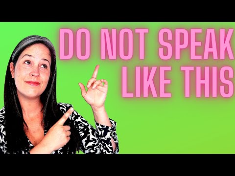 English Conversation Exercise – American English Pronunciation