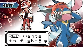 Pokemon Red/Blue/Yellow: Trainer Red Music Extended [4-bit]