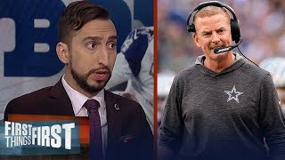 Jason Garrett & coaching staff to blame for Cowboys loss to Patriots | NFL | FIRST THINGS FIRST