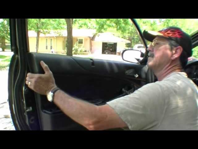 Door Panel Removal 2002 Civic Coupe. - YouTube