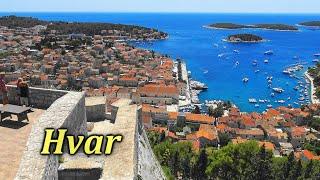 Hvar Fortress - Spanjola, Croatia | 4K
