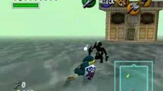 LoZ: OoT - Link vs Dark Link