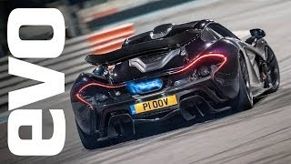 McLaren P1: Flames, drifts and an unforgettable noise | evo REVIEW
