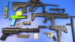 Toy Guns Toys for Kids ! BOX OF TOYS GUNS Military Guns & Equipment