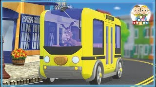 Wheels on the Bus   Nursery Rhymes - Kids Songs