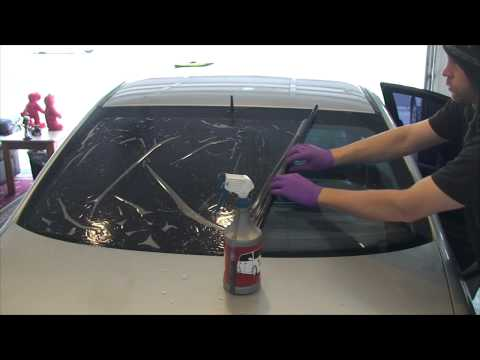 Window Tinting Reverse Roll