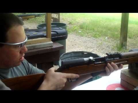 NaybahoodSniper loading a sks with a stripper clip and firing it. 7.62 x 39