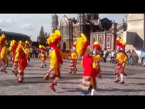 matachines de san jose de lourdes, zacatecas en la basilica de guadalupe 2013