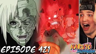 NIGHT GUY VS. MADARA - THE DEATH OF GUY SENSEI?! | Naruto Shippuden REACTION Episode 421