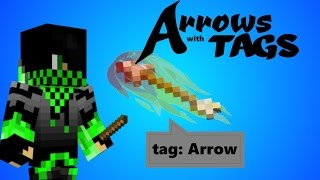 Arrows with tags! Minecraft 1.10 tutorial