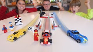 Lego Ferrari Cars Special Edition | Family Competition Ride