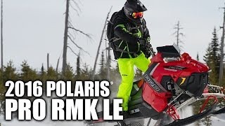 TEST RIDE: 2016 Polaris 800 Pro RMK LE 163