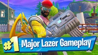 Epic sent me Major Lazer set EARLY!! - Fortnite Battle Royale Gameplay