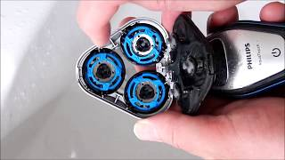 Maintaining and deep cleaning Philips electric shaver with vinegar