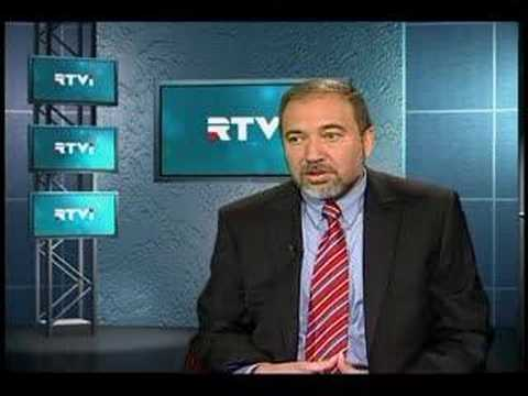 Avigdor Lieberman interview part 1 - RTVI exclusive