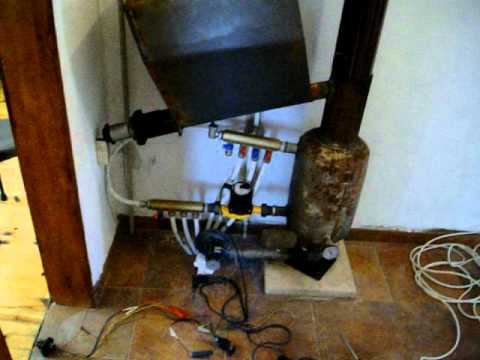 home made pellet burner.AVI