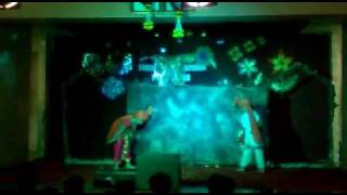 Jay bhavani Jay shivaji by Kshitija and Viraj at sharadashram school.