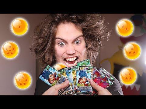 Newbie Opens 24 Dragon Ball Super Card Game Packs