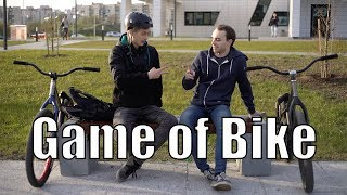 Game of bike: Stepanov vs Fomin. MTB Street.