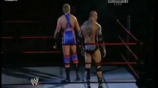 John Cena & Randy Orton vs Batista & Jack Swagger