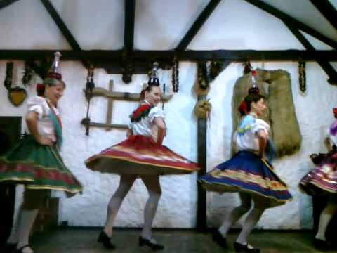 traditional folk dances from Hungary