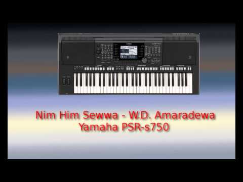 Nim Him Sewwa - Cover Music (psr-s750) video