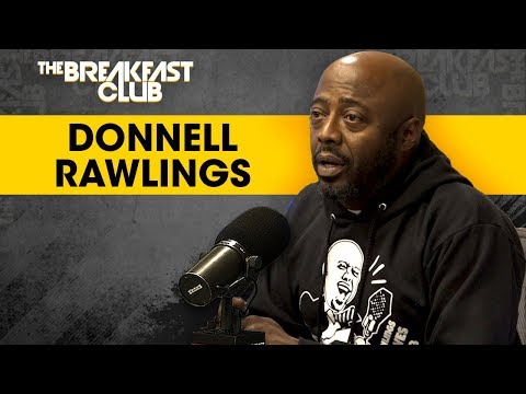 Donnell Rawlings Gets Pranked By The Breakfast Club, Talks Katt Williams, Long Form Comedy + More
