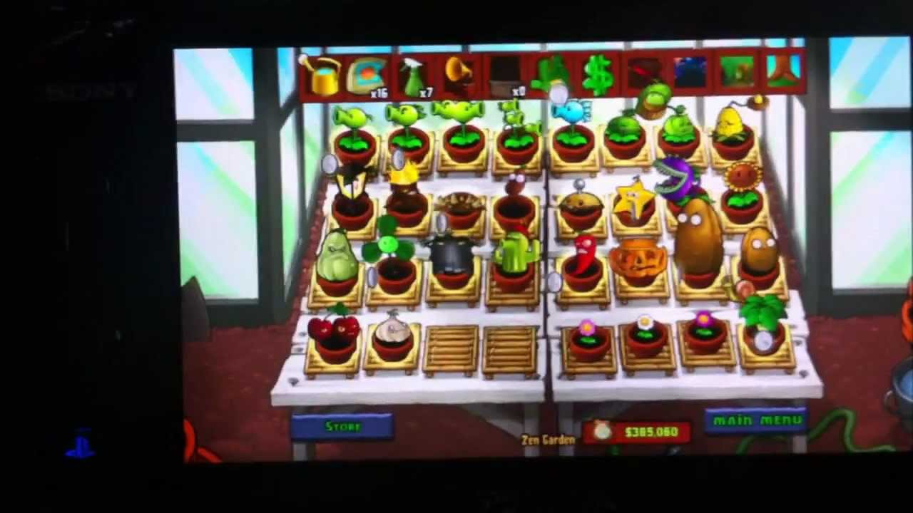 Plants vs Zombies Zen Garden Plants vs Zombies Full Zen