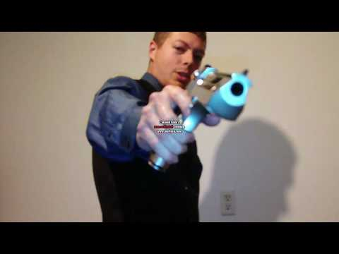 Desert Eagle .50AE vs Frozen Bottles of Water Video