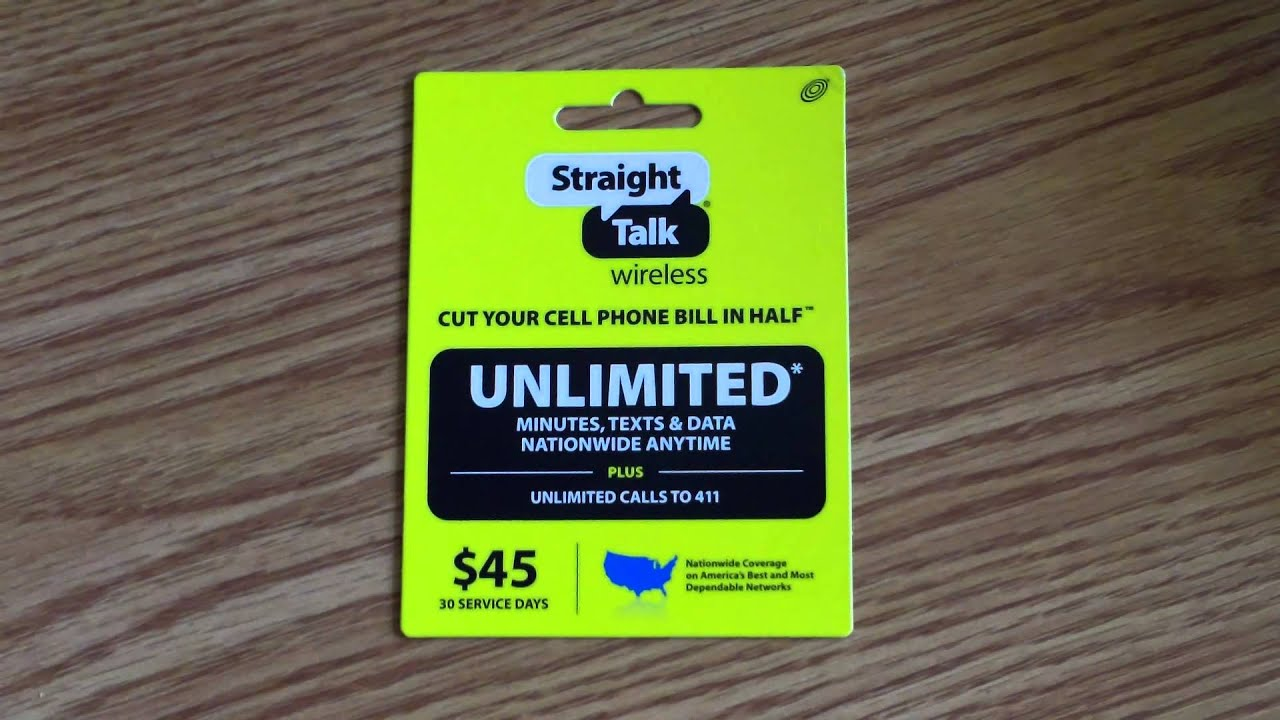 30% OFF at Straight Talk and 15+ working Straight Talk promo codes in Nov Do I have to have a SIM card to use Straight Talk? If your phone already has a SIM card, it likely works with Straight Talk in the U.S. Almost any iPhone will work with Straight Talk (except iPhone 4 CDMA models. /5(6).