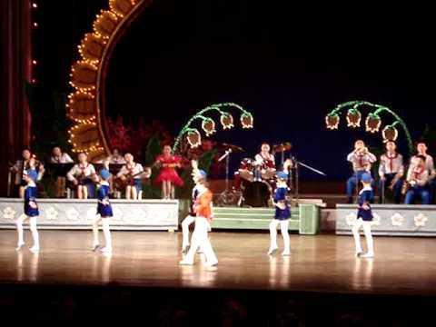 North Korean Children perform for the New York Philharmonic